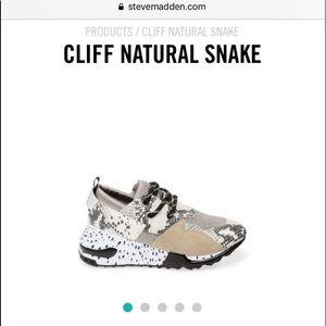 Steve Madden cliff snake 5.5 shoes
